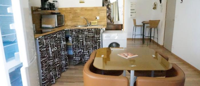 Cuisine des appartements à louer pour cure et vacance à Lamalou les Bains