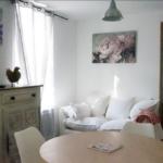 salle à manger des appartements à louer pour cure et vacance à Lamalou les Bains