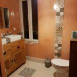photo de la salle de bain du loft à louer pour cure et vacance à Lamalou les Bains