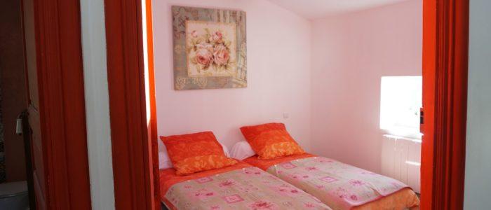 quatrième photo d'une des chambres du loft à louer pour cure et vacance à Lamalou les Bains