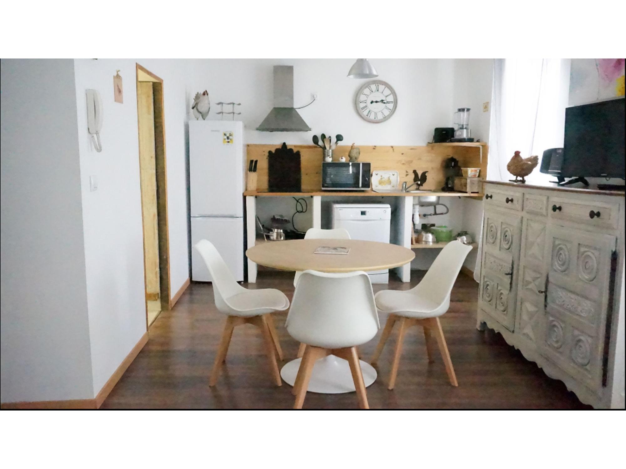 Intérieur d'un des appartements à louer à Lamalou les Bains