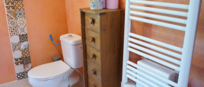 Photo de la salle de bain du Loft à louer pour curiste et vacancier à Lamalou les Bains