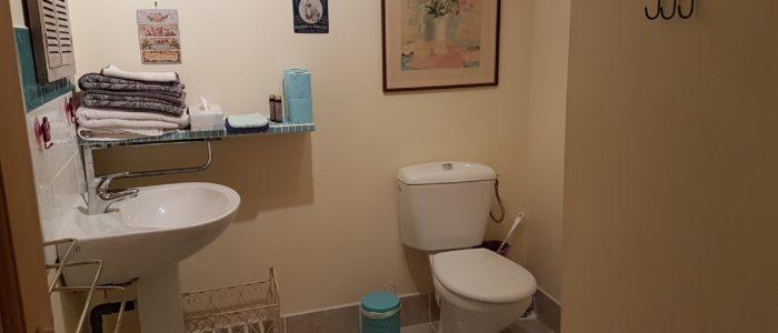 Photo des sanitaires des appartements à louer pour cure et vacance à Lamalou les Bains