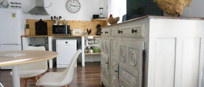 Photo de la salle à manger des appartements à louer pour cure et vacance à Lamalou les Bains
