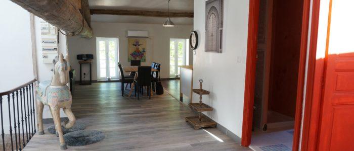 Photo de l'entrée du Loft à louer pour curiste et vacancier à Lamalou les Bains